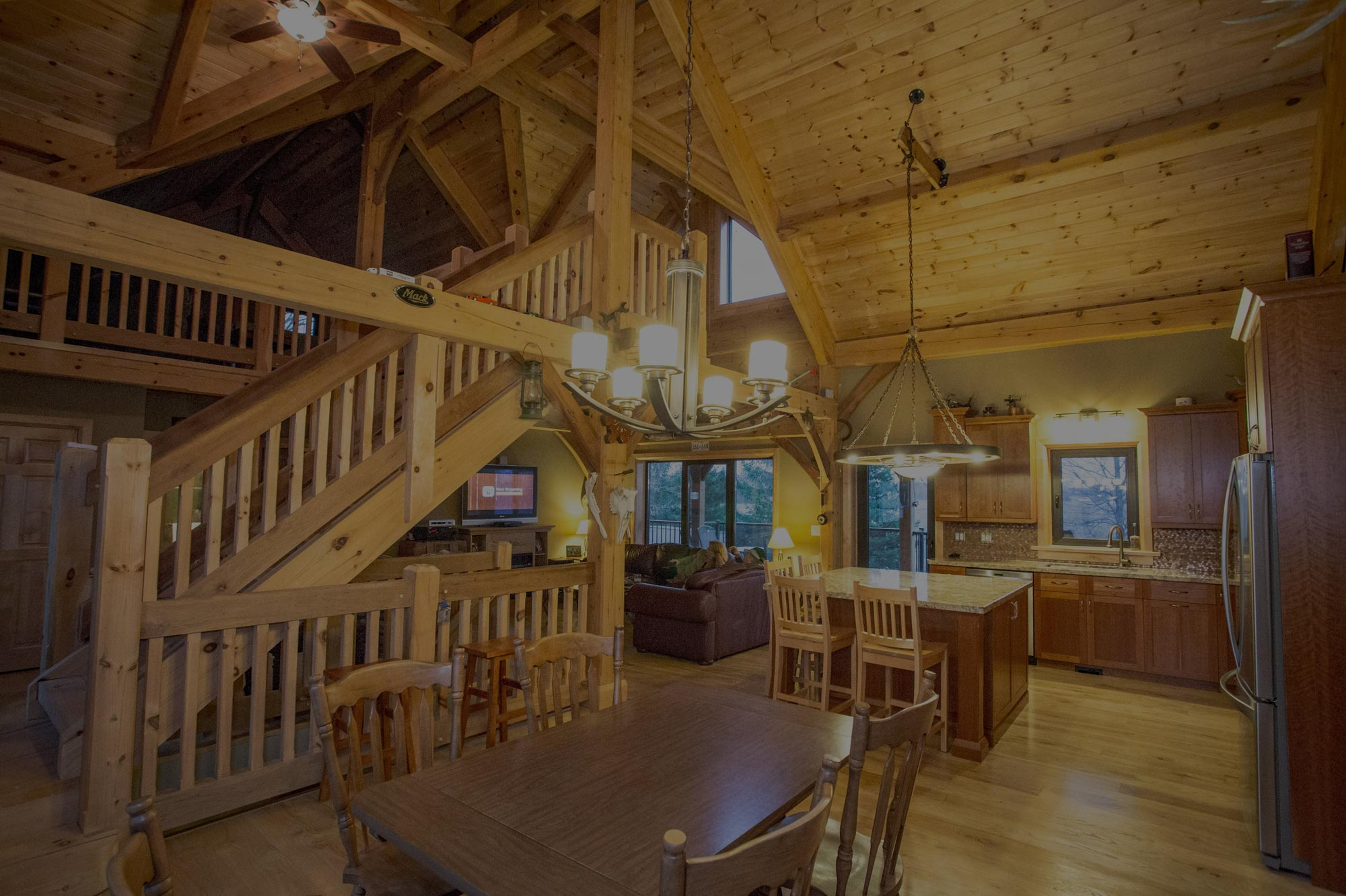 LAVERTY LOG HOMES <br/>&#038; TIMBER FRAMES